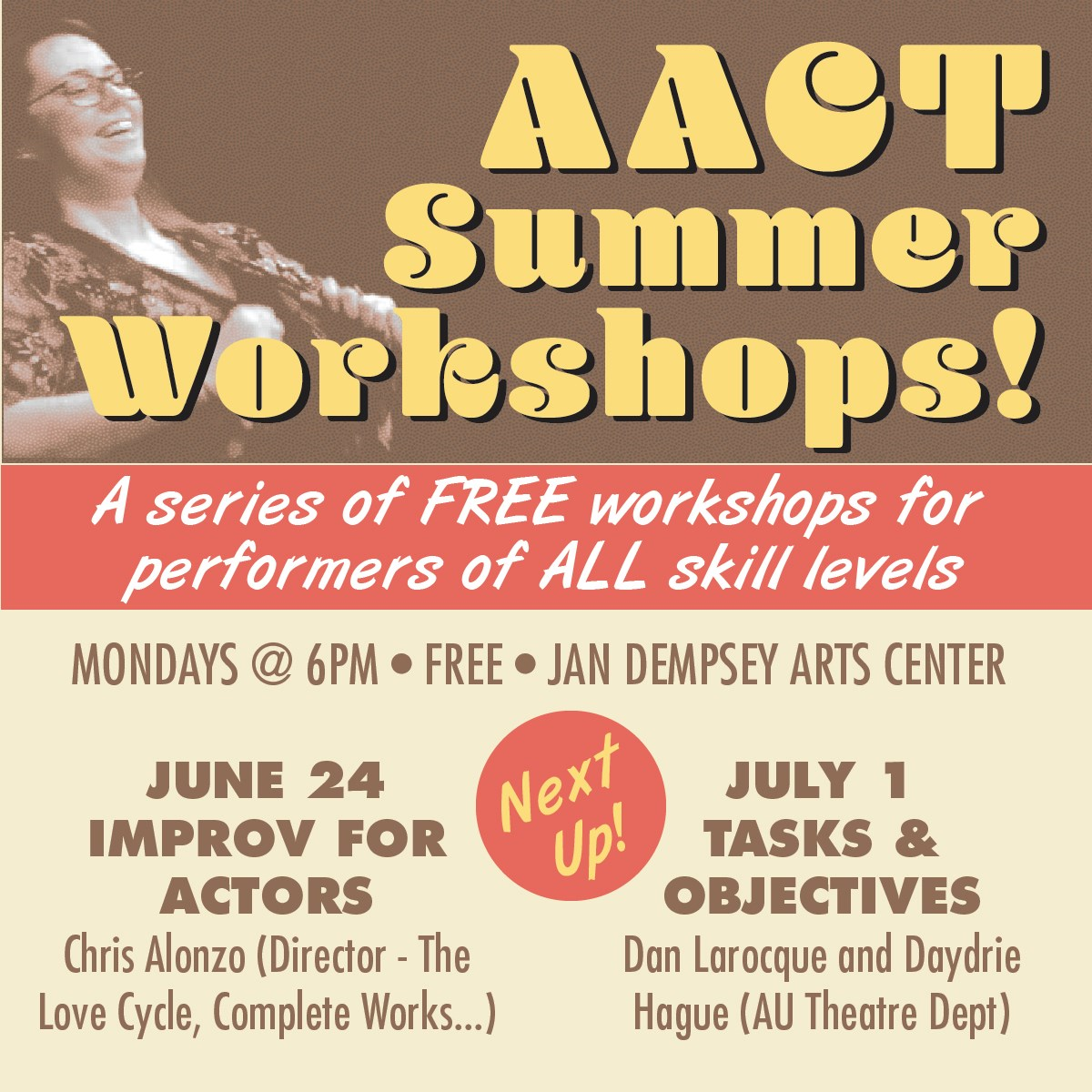 AACT Summer Workshop Infographic