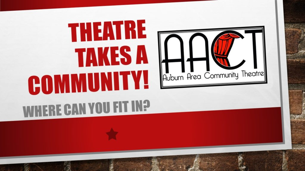 Theatre Takes a Community